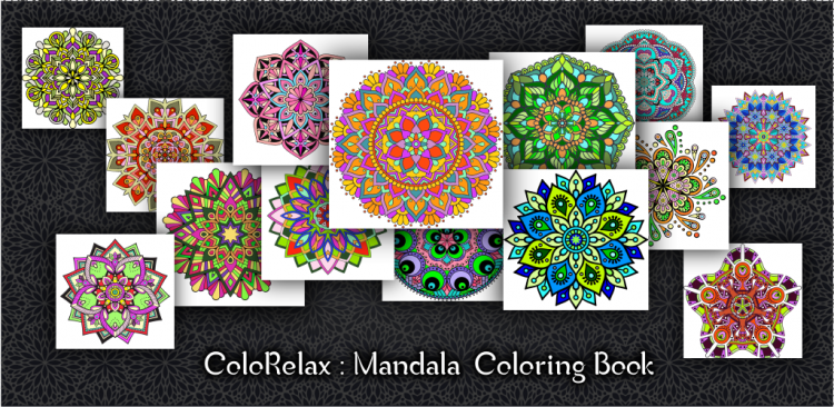 ColoRelax Mandala Coloring Book